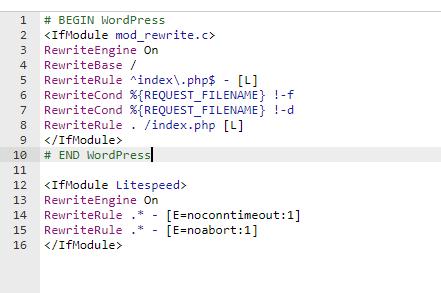 LiteSpeed Timeout Fix